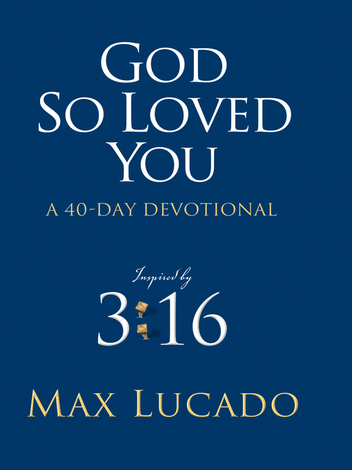God So Loved You (eBook): A 40 Day Devotional